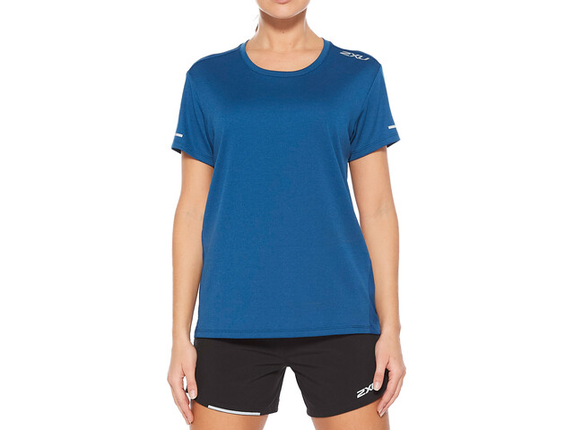 2XU Xvent G2 Camiseta Manga Corta Mujer, azul